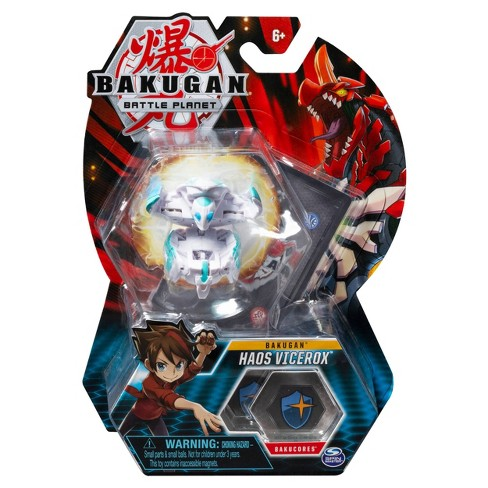"""Bakugan Haos Vicerox 2"""" Collectible Action Figure and Trading Card - image 1 of 4"""