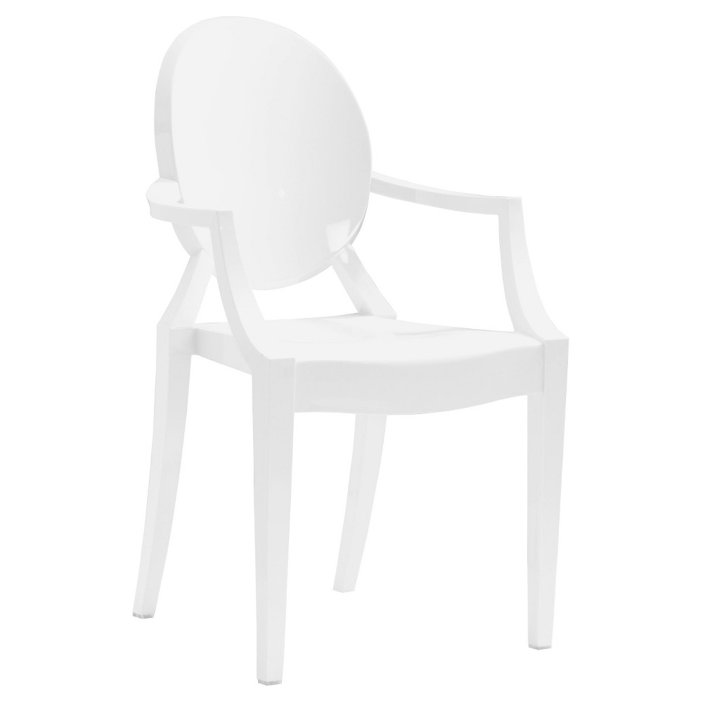 Modern Dining Chair (Set of 4) - White - ZM Home