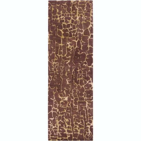 Surya Ban3304 268 Banshee 3 X 8 Runner Wool Hand Tufted Contemporary Area Rug