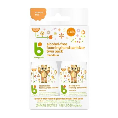 Babyganics Alcohol-Free Foaming Hand Sanitizer - 1.69 fl oz/2pk - image 1 of 2