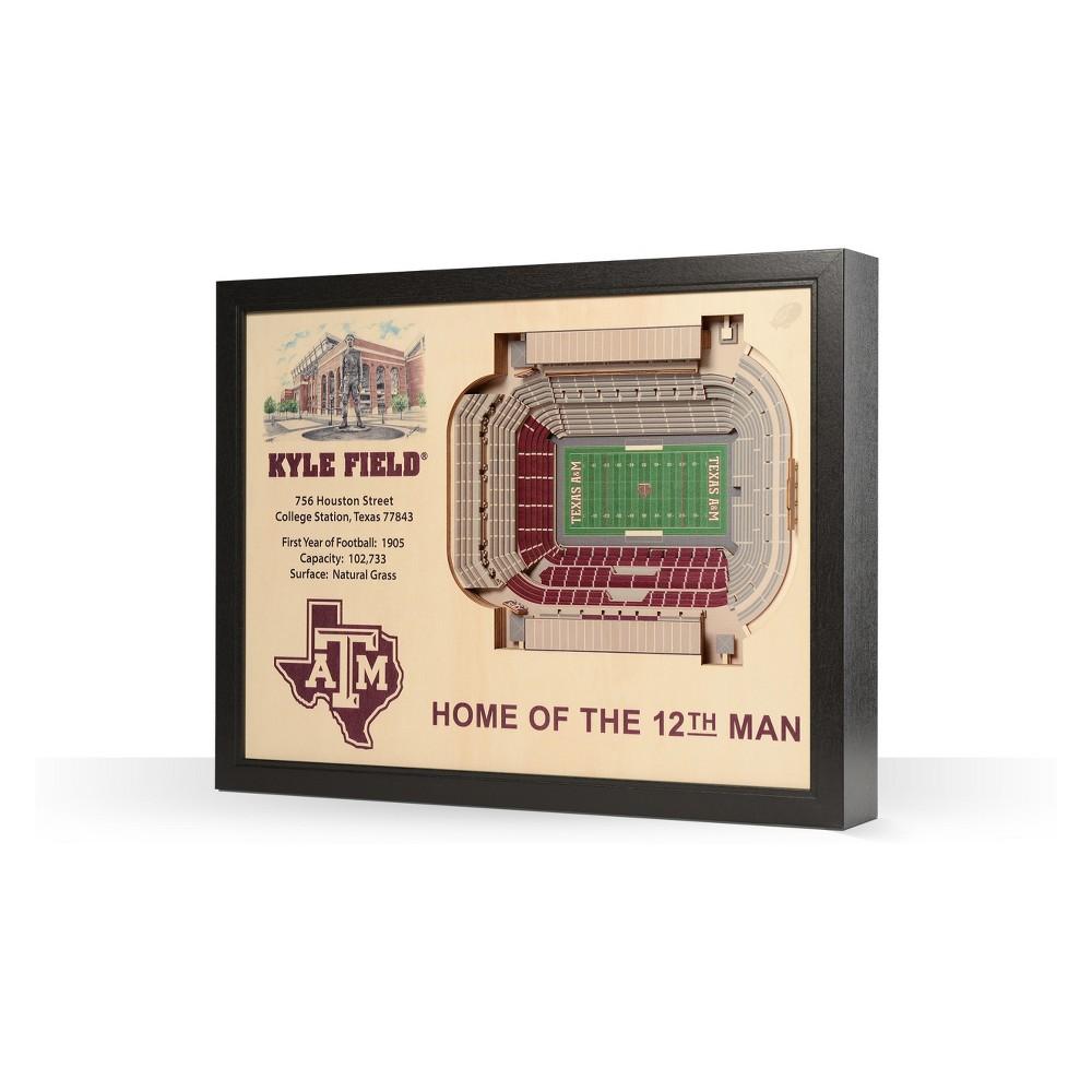NCAA Texas A&m Aggies Stadium View Wall Art - Kyle Field