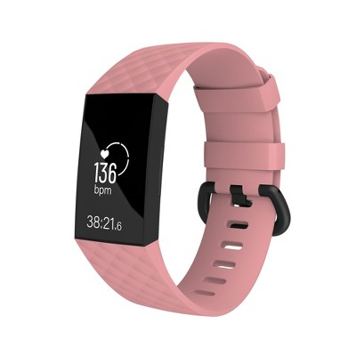Fitbit Charge 3 bands, by Zodaca Replacement Band Silicon Wristband Watch Straps For Fitbit Charge 3 Fitness Activity Tracker