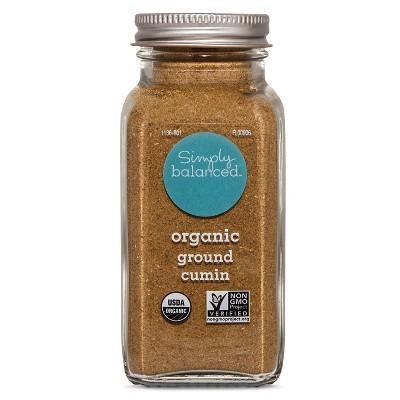 Organic Ground Cumin - 2.8oz - Simply Balanced™