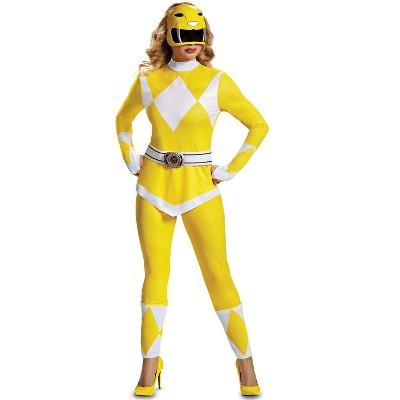 Power Rangers Yellow Ranger Adult Costume