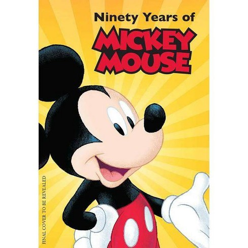Disney: Ninety Years of Mickey Mouse (Mini Book) - by  Darcy Reed (Hardcover) - image 1 of 1