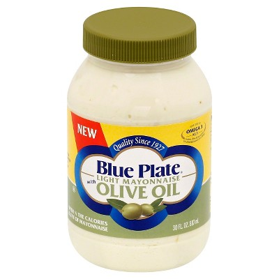 Mayonnaise: Blue Plate Light with Olive Oil