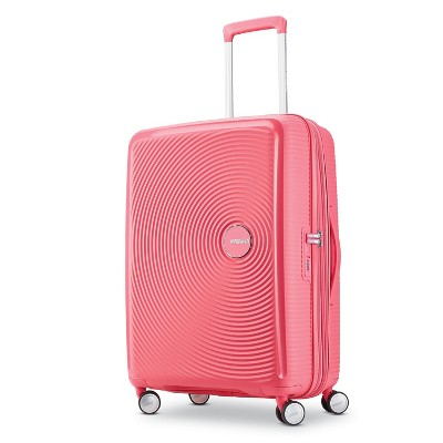 American Tourister 25'' Curio Hardside Spinner Suitcase - Pink