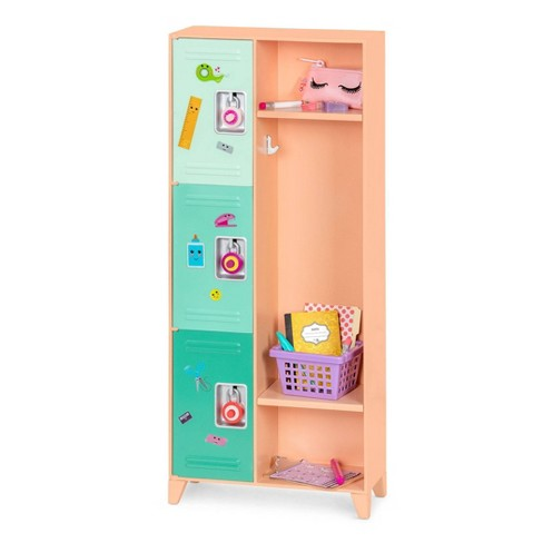 """Our Generation Classroom Cool School Locker Accessory Set for 18"""" Dolls - image 1 of 4"""