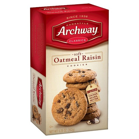 Homestyle Archway Classics Soft Oatmeal Raisin Cookies - 9.25oz - image 1 of 2