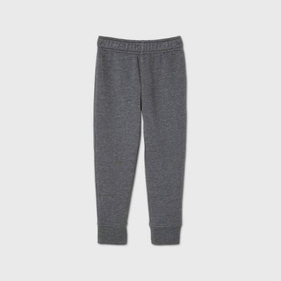 Toddler Boys' Fleece Bottom Pull-On Pants - Cat & Jack™ Gray 5T