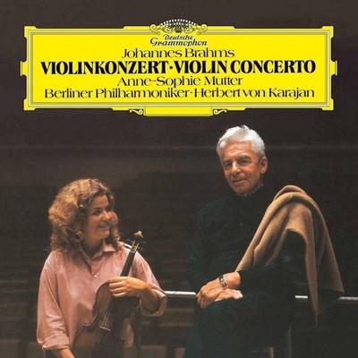 Anne-Sophie Mutter/Berliner Philharmoniker/Herbert von Karajan - Brahms: Violin Concerto In D, Op.77 (LP) (Vinyl)