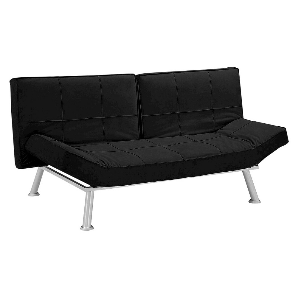 Brighton Convertible Sofa - Lifestyle Solutions, Black