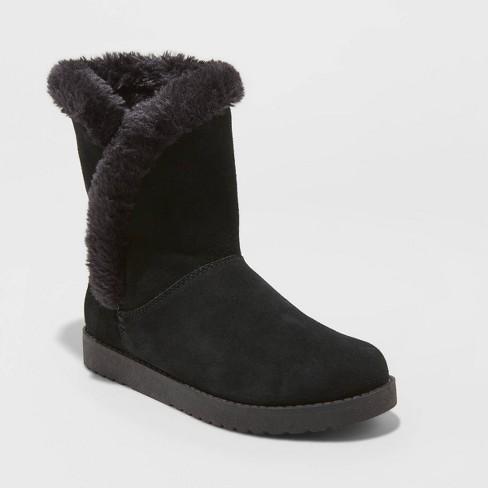 Women's Daniah Suede Mid Boots - Universal Thread™ - image 1 of 3