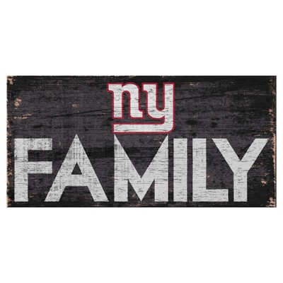 NFL Fan Creations Family Sign