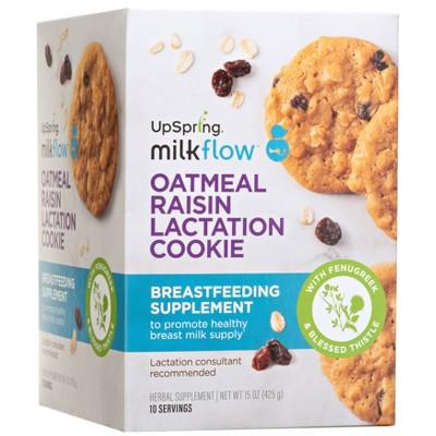 Milkflow Fenugreek Oatmeal Raisin Cookies - 10ct