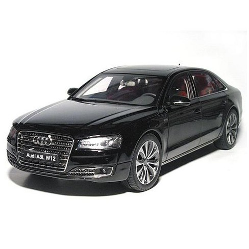 2014 Audi A8 L W12 Phantom Black 1 18 Diecast Model Car By Kyosho