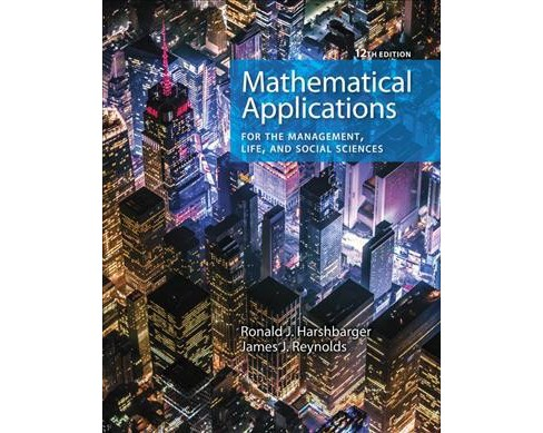 Mathematical Applications for the Management, Life, and Social Sciences -  (Hardcover) - image 1 of 1
