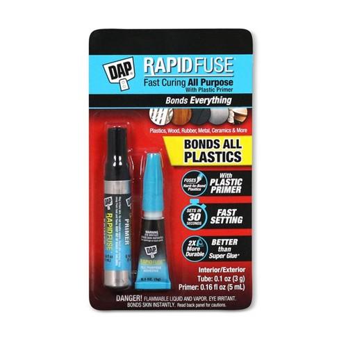 DAP Rapid Fuse Plastic Primer Adhesive Kit - image 1 of 1