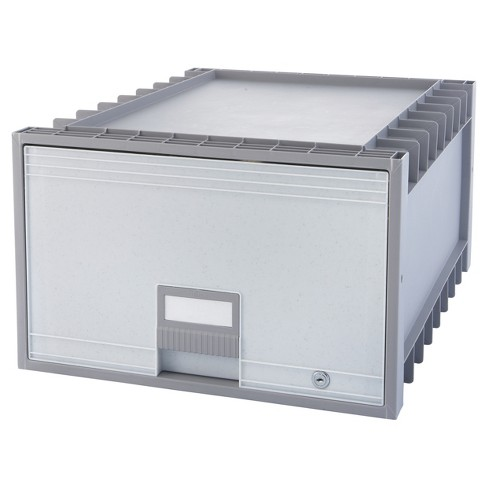 Storex® Storage Box Legal Size - Gray - image 1 of 3