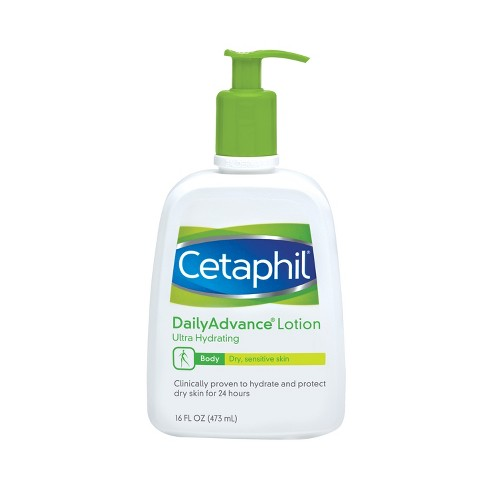 Cetaphil Daily Advance Ultra Hydrating Lotion Unscented - 16oz - image 1 of 3