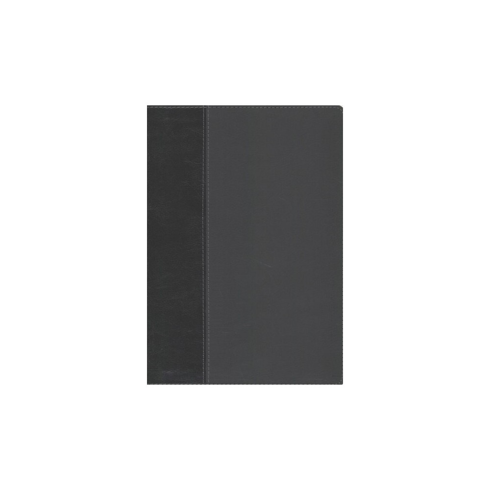 Every Man's Bible : New International Version, Onyx/Black, Leatherlike - Ind Lrg TH (Paperback)
