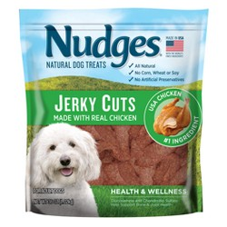 Nudges® Heath & Wellness Dog Treats - Chicken Jerky Cuts - 16oz