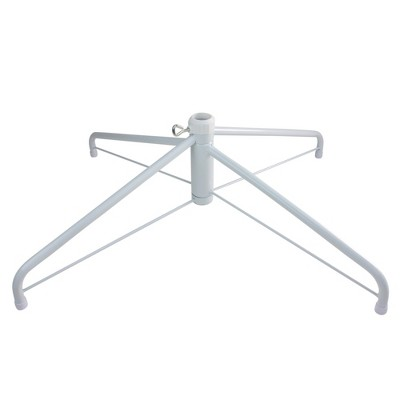 Northlight White Christmas Tree Stand for 9'-10' Artificial Trees
