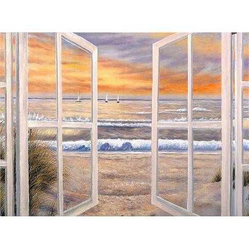 'Elongated Window On Canvas' by Joval Ready to Hang Canvas Wall Art - image 1 of 1