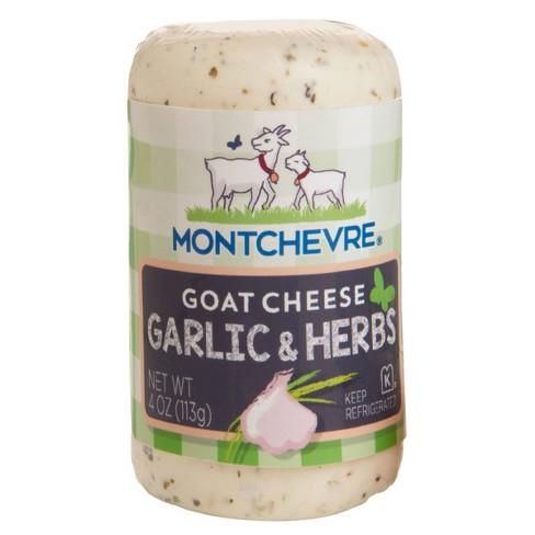 Montchevre Mediterranean Herbs & Garlic Goat Cheese - 4oz - image 1 of 4