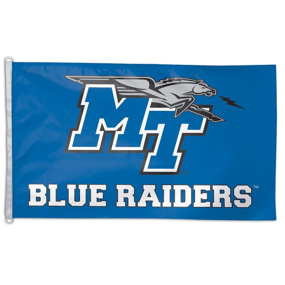 NCAA Middle Tennessee Blue Raiders Flag