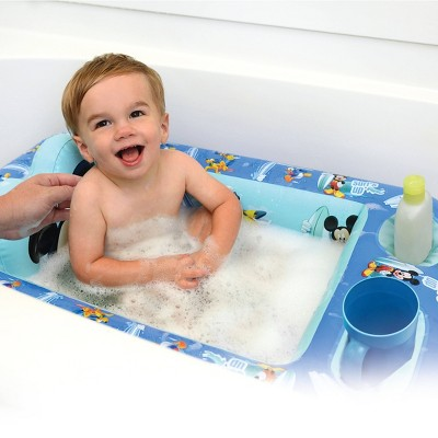 Disney Mickey Mouse Inflatable Safety Bathtub