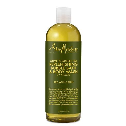 SheaMoisture Olive & Green Tea Bubble Bath & Body Wash - 16 fl oz - image 1 of 4