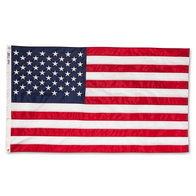 Annin Embroidered American Flag - 3' x 5'