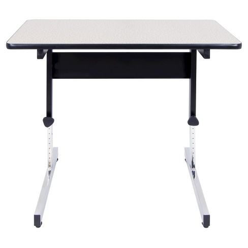 Adapta Adjustable Height Standing Desk 20 X 36 Black Spatter