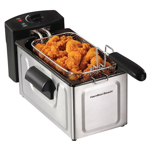 Hamilton Beach 2.1qt Oil Capacity Deep Fryer - Stainless Steel - image 1 of 5