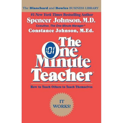 The One Minute Teacher - 2 Edition by  Constance Johnson (Paperback) - image 1 of 1