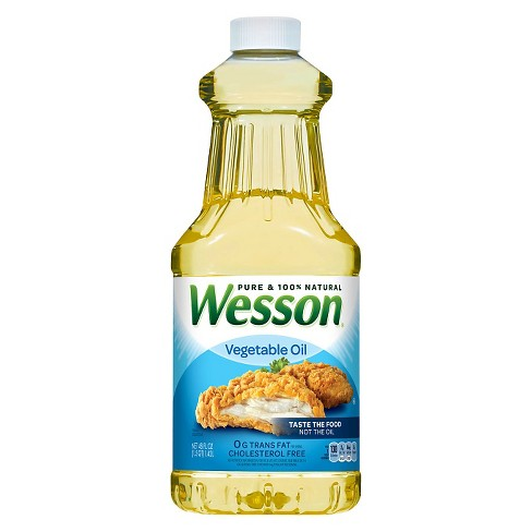 Wesson® Pure Vegetable Oil - 48oz - image 1 of 1