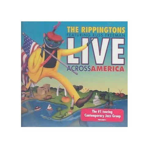 Rippingtons (The) - Live Across America (CD) - image 1 of 1