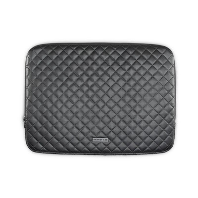 """Dabney Lee 14"""" Quilted Laptop Sleeve - Black"""