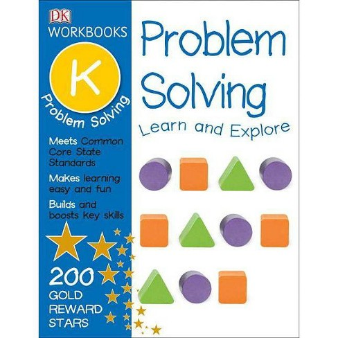 DK Workbooks: Problem Solving, Kindergarten - (Paperback) - image 1 of 1