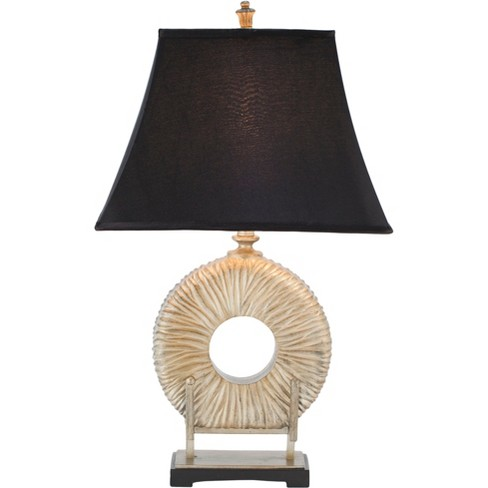 Gabriella 29.5Inch H Circle Table Lamp Silver (Includes Energy Efficient Light Bulb) - Safavieh - image 1 of 2