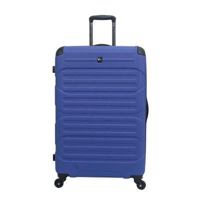 "Skyline 28"" Hardside Spinner Checked Suitcase - Blue"