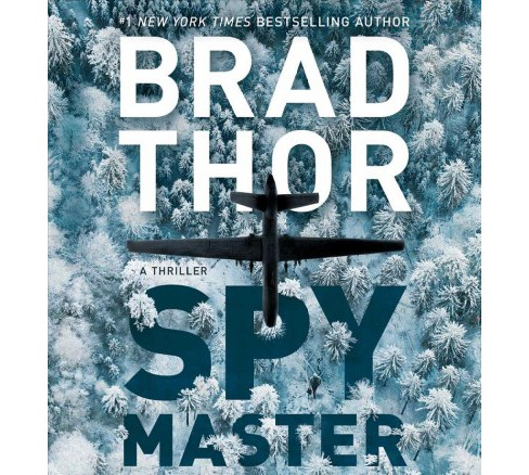 Spymaster -  Unabridged (Scot Harvath) by Brad Thor (CD/Spoken Word) - image 1 of 1