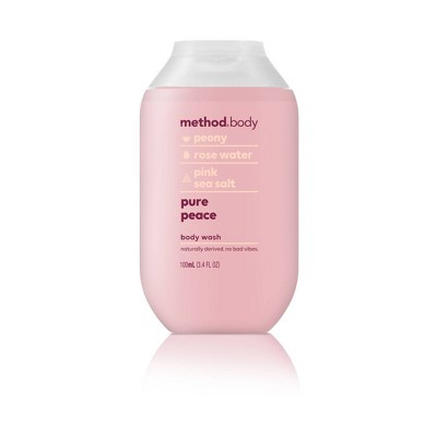 Method Pure Peace Body Wash - Trial Size - 3.4 fl oz