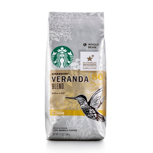 Starbucks Veranda Blend Blonde Light Roast Whole Bean Coffee - 12oz - image 1 of 3