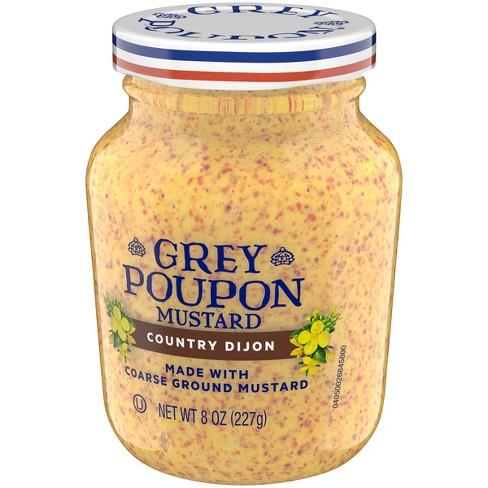 grey poupon country dijon mustard 8oz target