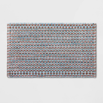 32 x20  Woven Pattern Flat Bath Rug - Opalhouse™