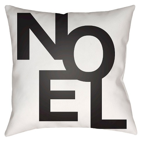 First Noel Throw Pillow - Surya - image 1 of 1
