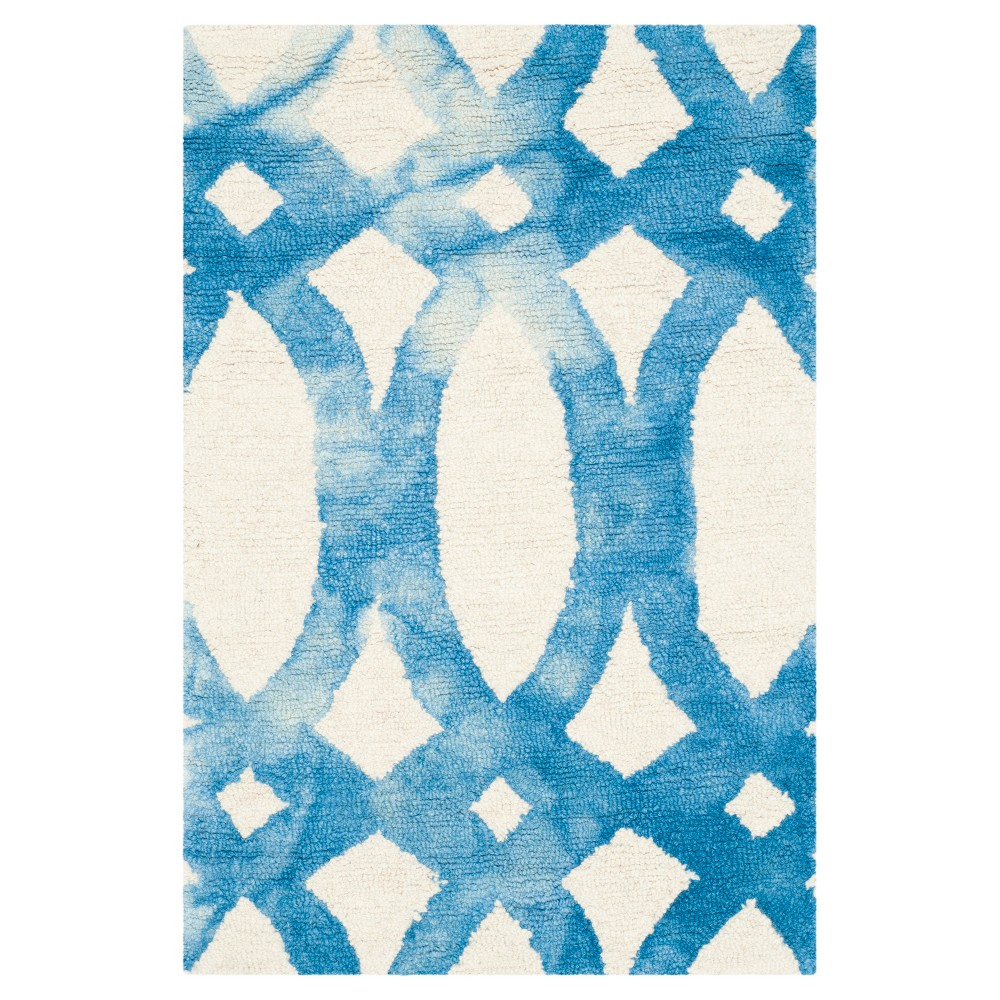 Adney Area Rug - Ivory/Blue (2'x3') - Safavieh
