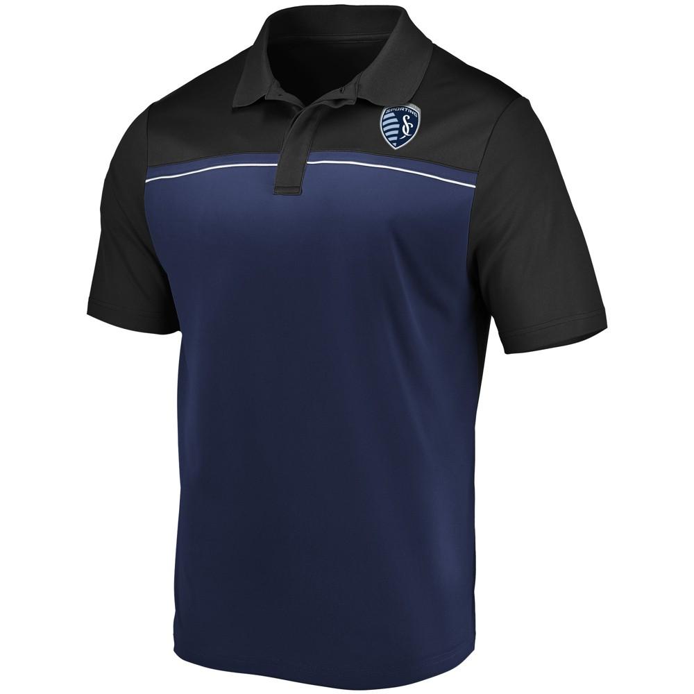 Mls Men S Polo Shirt Sporting Kansas City Xxl